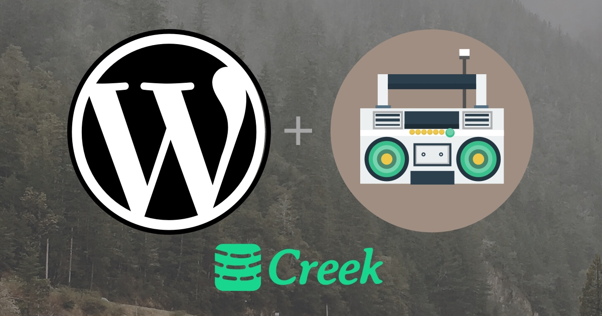 WordPress + Creek